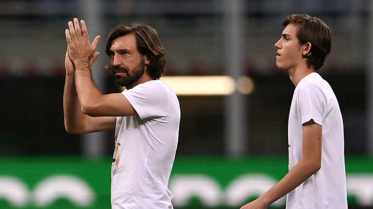 Andrea Pirlo was a key figure for AC Milan, Juventus and Italy