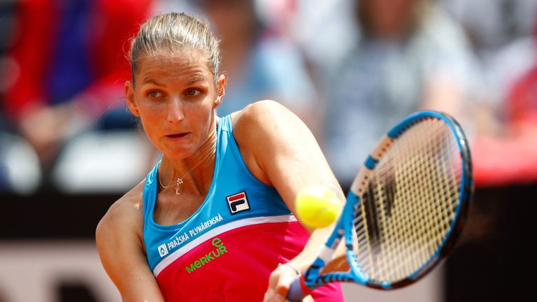 As well as being fined, Karolina Pliskova has donated the same amount to charity