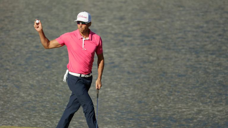 Rafa Cabrera Bello is defending champion after winning a play-off at Dundonald Links