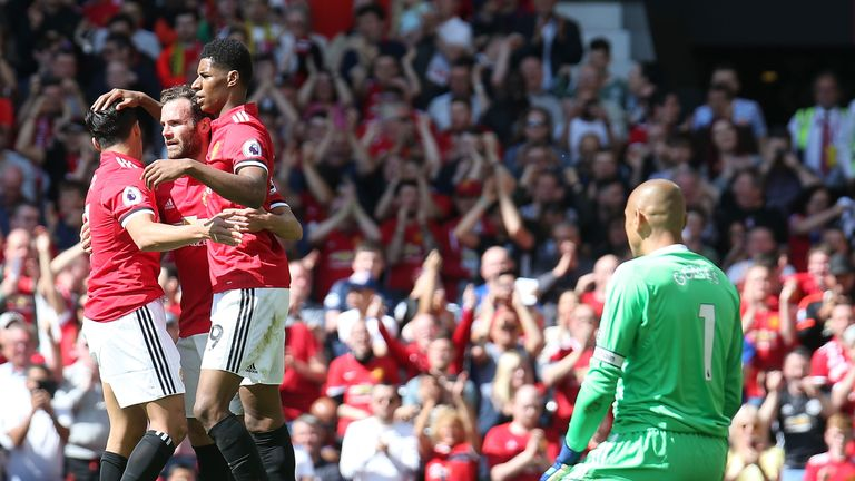 Manchester United beat Watford 1-0 on the final day of the season
