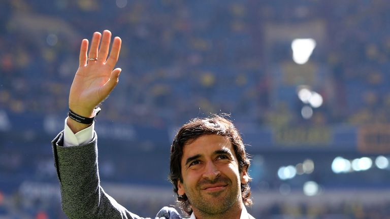 Could Raul take charge at the Bernabeu?