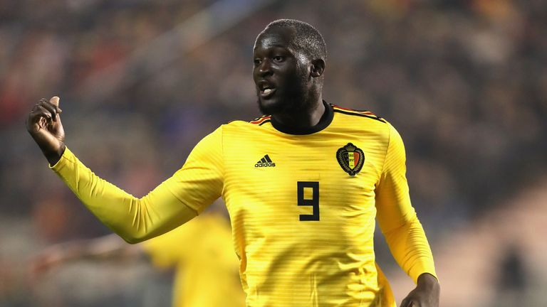 Romelu Lukaku will be a familiar threat when England face Belgium