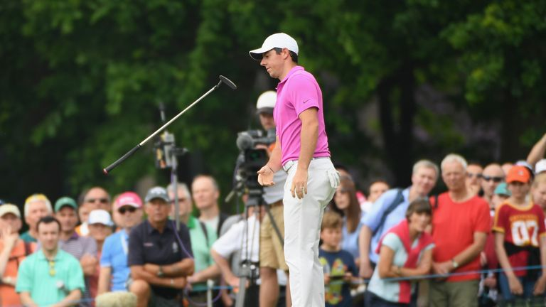 Rory McIlroy couldn't hide his frustration on the final day at Wentworth