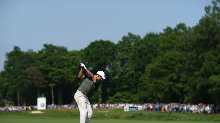 McIlroy posted a one-under 71 on Saturday