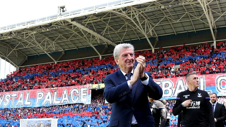 Roy Hodgson arrived at Selhurst Park in September last year