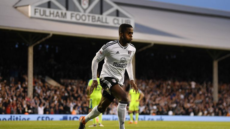 Ryan Sessegnon scored one and created another on Monday night