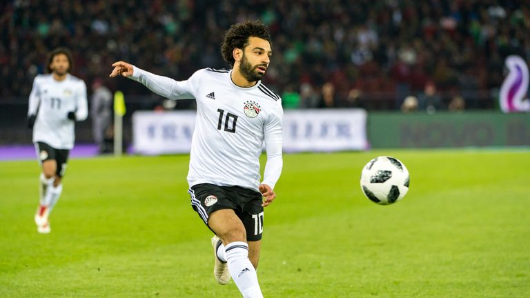 Mohamed Salah is hoping to be fit for Egypt's first World Cup appearance since 1990