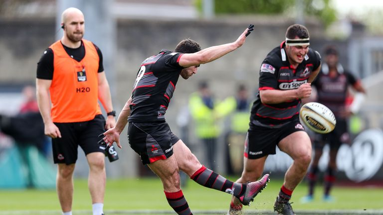 Sam Hidalgo-Clyne's boot ticked Edinburgh over throughout the game but they could not force the lead