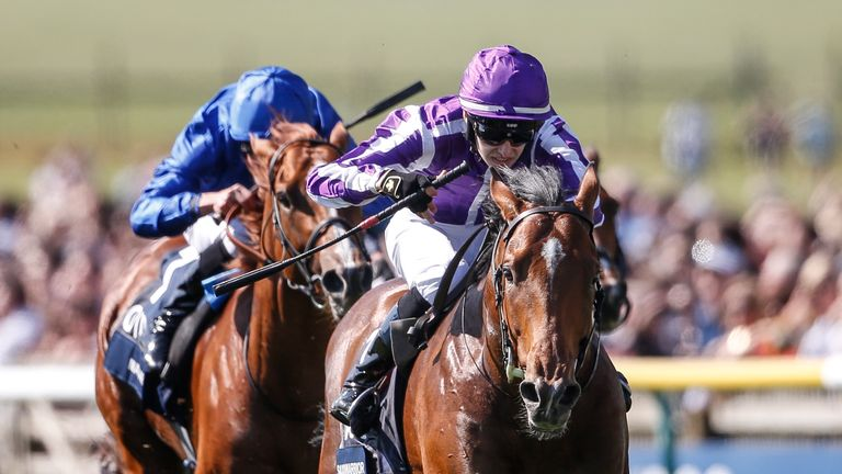 ef03d23ea65 Saxon Warrior arrives as favourite after winning the 2,000 Guineas at  Newmarket last month