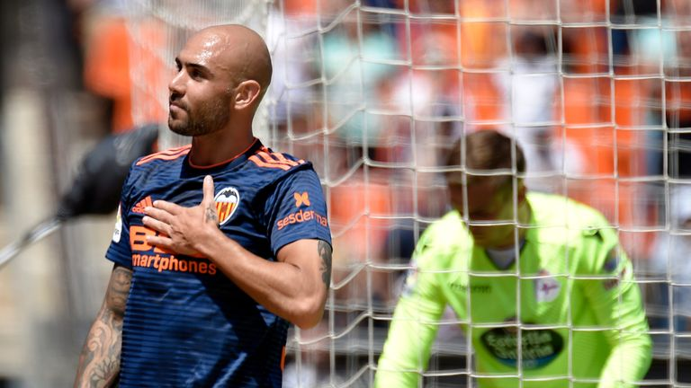 Simone Zaza opened the scoring in Valencia's final-day win