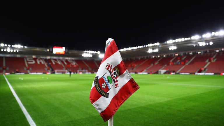 Southampton had their 40-room reservation cancelled on Sunday