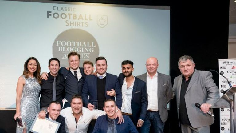 Top football websites and blogs will be recognised at the awards