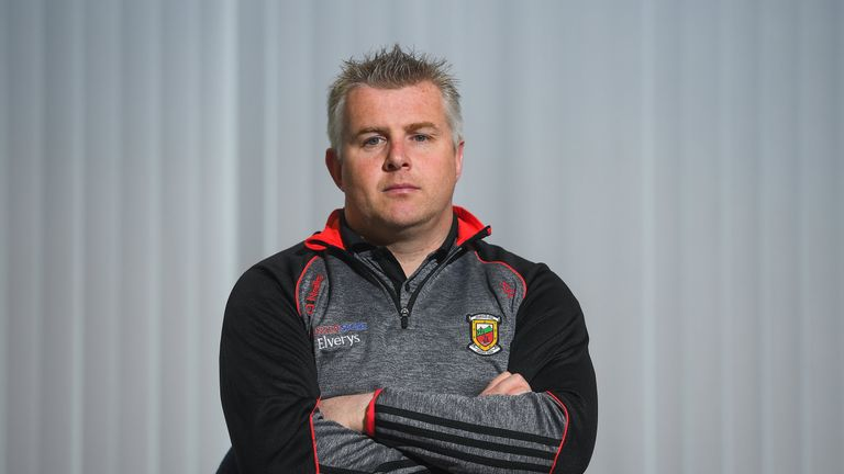 Stephen Rochford was speaking at the launch of the Connacht Senior Football Championship
