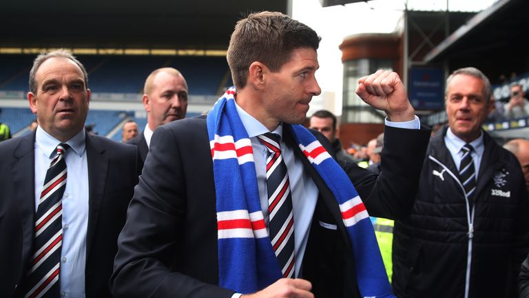 Steven Gerrard is the new manager of Rangers