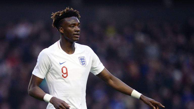 Abraham has been capped at senior level by England