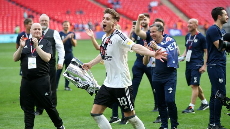 Fulham were promoted to the Premier League last season after beating Aston Villa 1-0 at Wembley