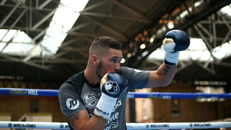 Tony Bellew will be last in the ring at around 6.40pm
