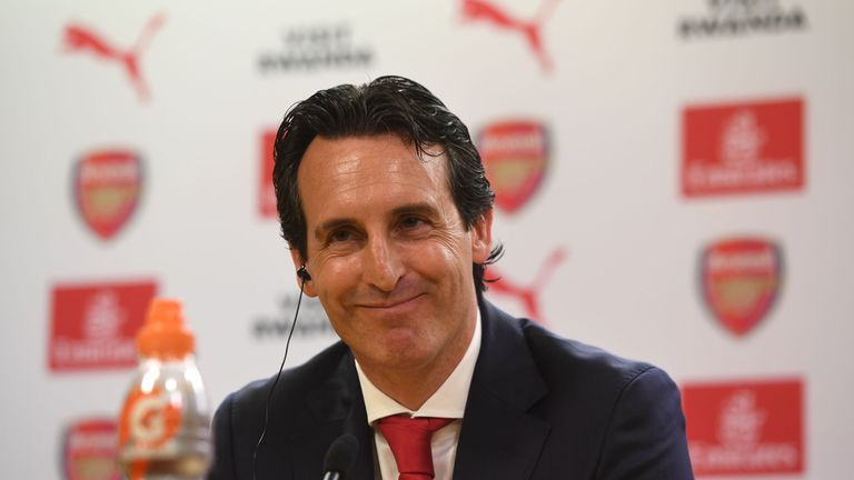 Unai Emery is the new Arsenal head coach