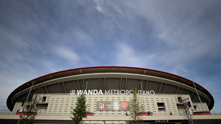 Atletico Madrid's Wanda Metropolitano Stadium will host the 2019 Champions League Final