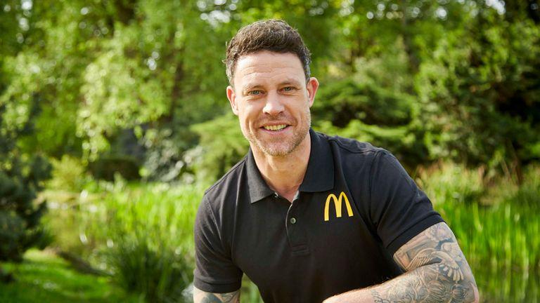 Wayne Bridge was at the launch of the 2018 FA and McDonald's Grassroots Football Awards