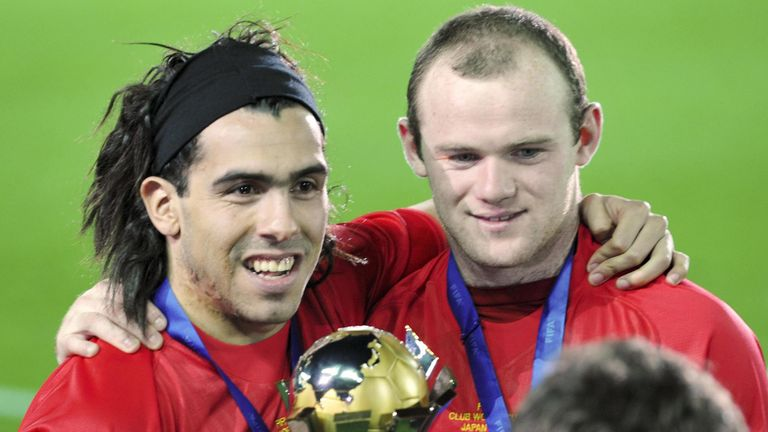 Could Rooney reunite with Carlos Tevez?