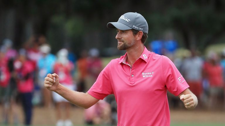 Webb Simpson's Sawgrass display is discussed