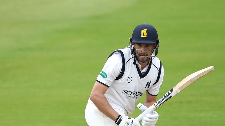 Will Rhodes scored a first first-class century as Warwickshire beat Northamptonshire