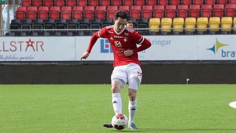 Birse joined the Swedish club in March and hopes it can be a springboard for a move back to England