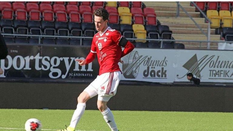 Birse has already become a regular for the Ostersund first team
