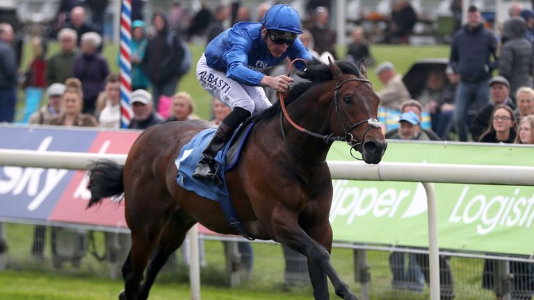 Harry Angel is clear of his York rivals
