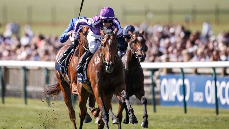 Saxon Warrior: Expected to have improved at Epsom