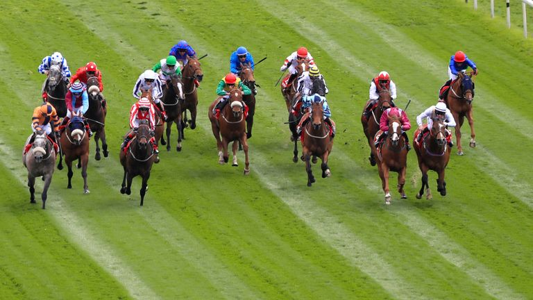 The field thunder home in the opener at York on Friday