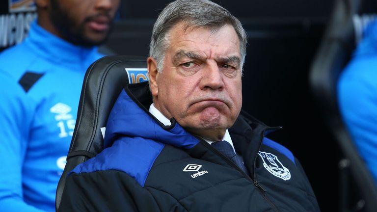 Sam Allardyce was sacked by Everton to make way for Silva
