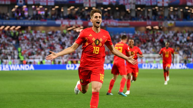 Adnan Januzaj is the only potential absentee for Belgium