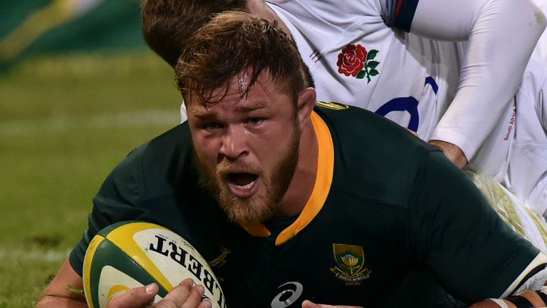 Duane Vermeulen had been linked with a move to Premiership side Bath