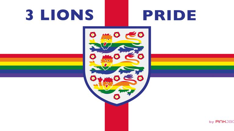 Three Lions Pride are the England LGBT+ fan group