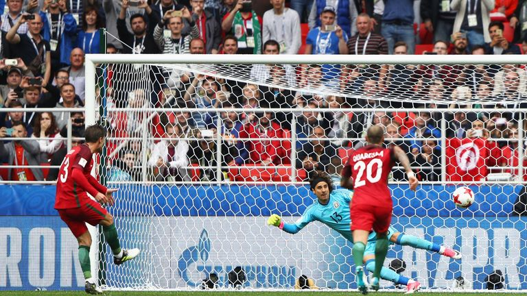 Silva's only international goal came in Moscow's Spartak Stadium as Portugal came third in the 2017 Confederations Cup