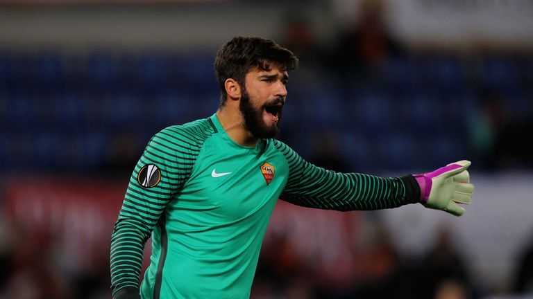 Alisson looks set to leave Roma this summer