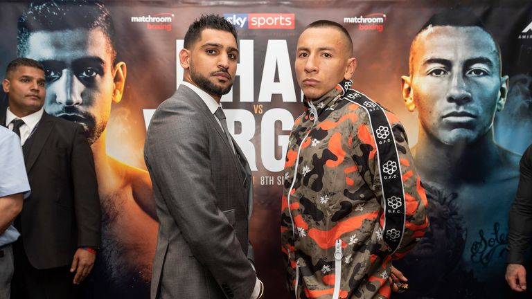 Amir Khan faces Samuel Vargas on Saturday, live on Sky Sports