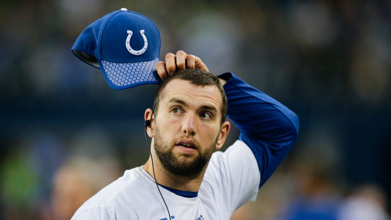 Andrew Luck did not play at all in 2017