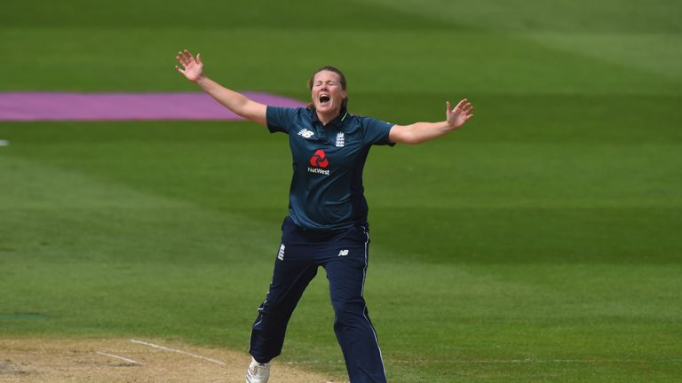 Anya Shrubsole has claimed 68 ODI wickets for England
