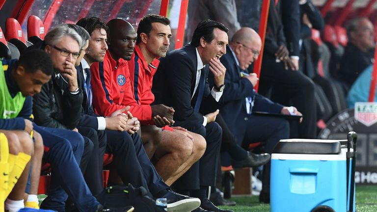 Emery was named as Arsenal head coach earlier this summer