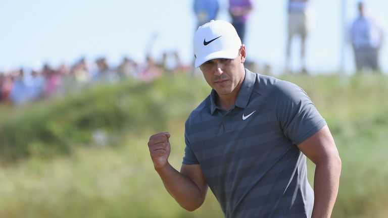 Brooks Koepka became the first player since 1989 to defend the title