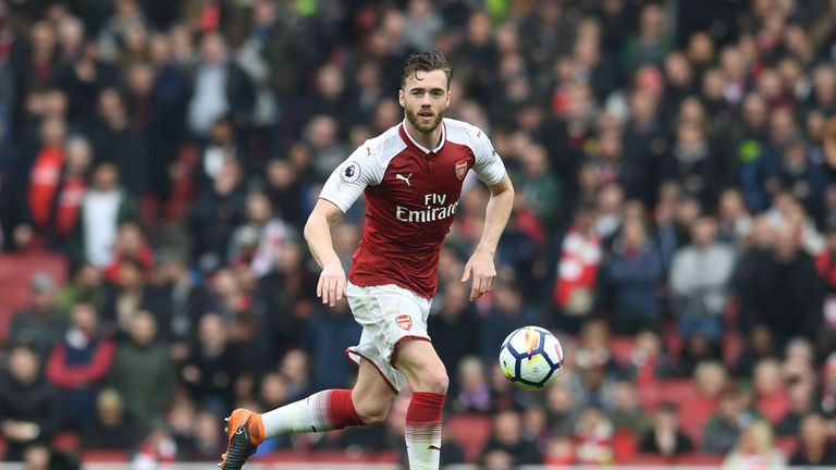 Arsenal defender Calum Chambers is set for a loan move to Fulham