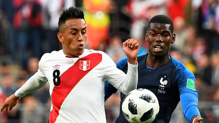 Peru were making their first appearance at a World Cup in 36 years