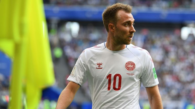 Christian Eriksen is one of Denmark's most important players
