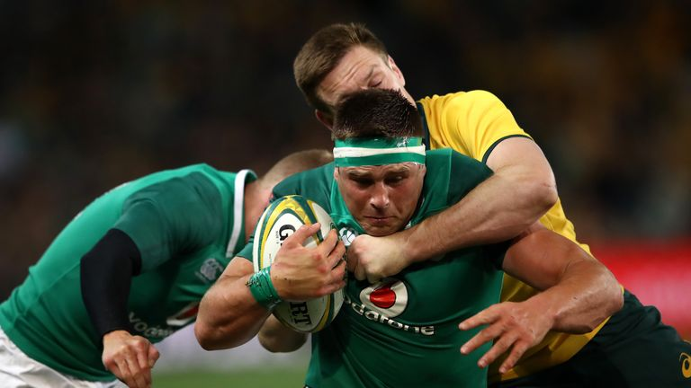 CJ Stander scored a vital try as Ireland secured victory in their three-Test Australia series