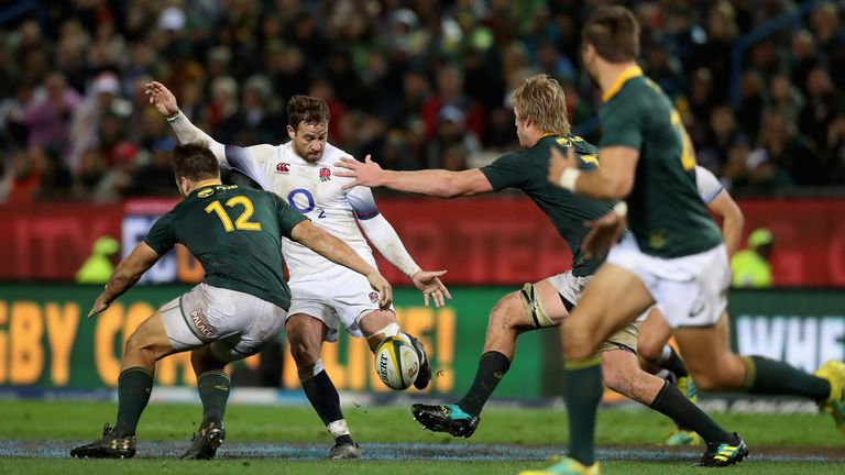 Danny Cipriani returned to international rugby for England in June and made his first start since November 2008 in the third Test against South Africa
