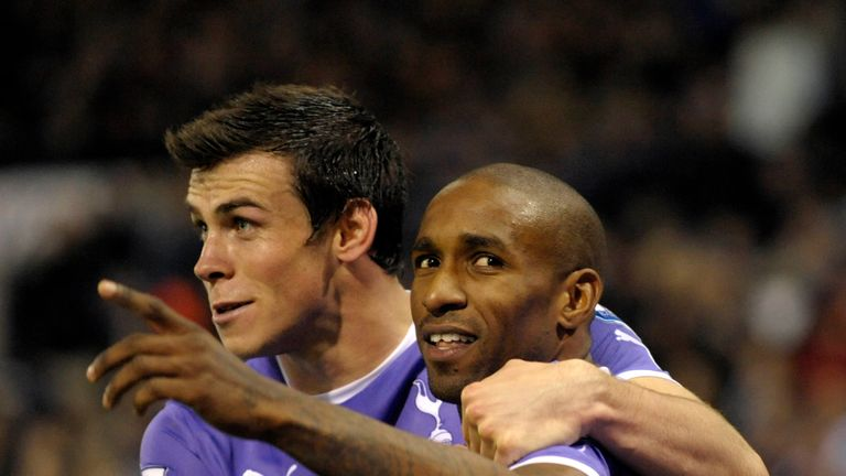 Defoe played with Bale in the Premier League at Tottenham Hotspur