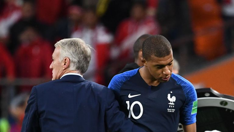 Kylian Mbappe has been in good form for France so far
